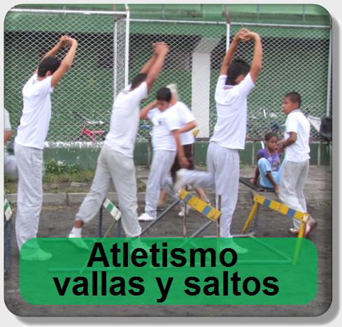 icono unidad didáctica octavo atletismo