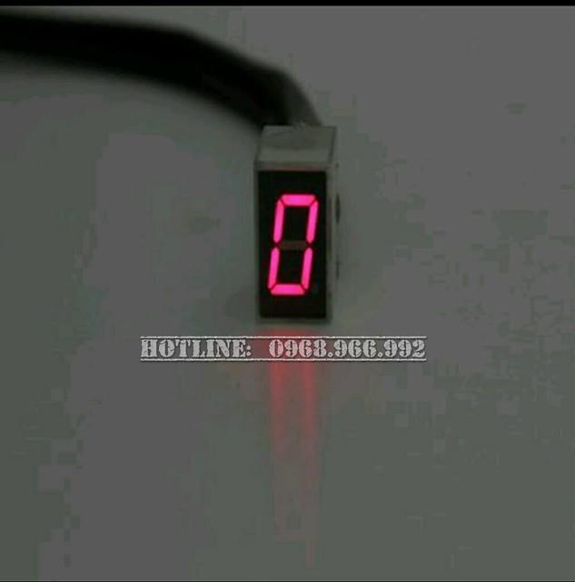 Báo số điện tử LED - Số 0 (N)