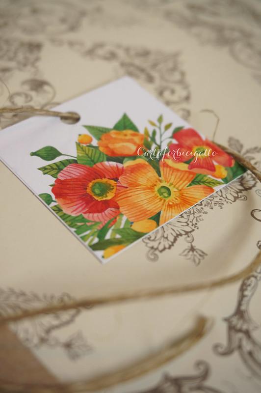 Citrus Floral Wedding Invitations - Partecipazioni nozze handmade floreali agrumi