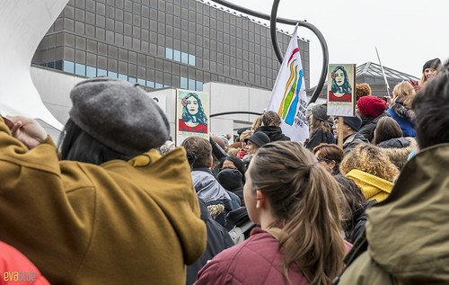 manif des femmes women's march montreal 62 | by Eva Blue