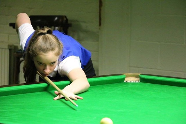Aimee Benn Snooker Achievement January 2017