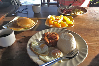 Coron - Balinsasayaw Resort breakfast mix