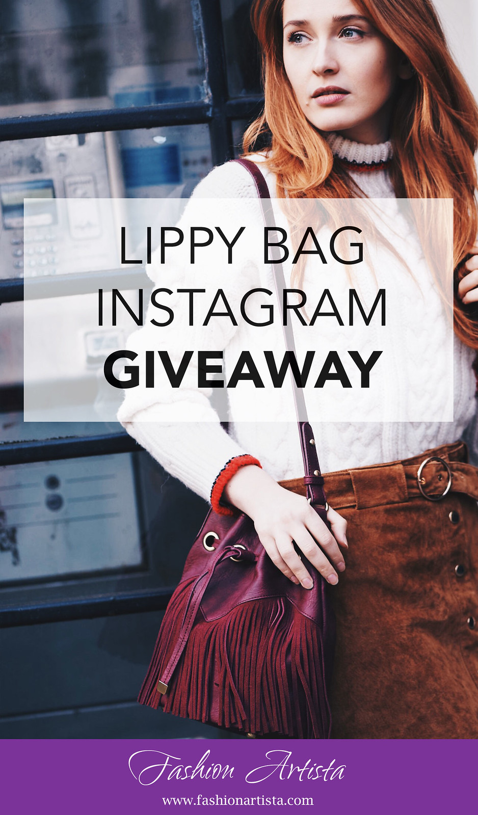 Lippy Bag instagram GIVEAWAY - www.fashionartista.com