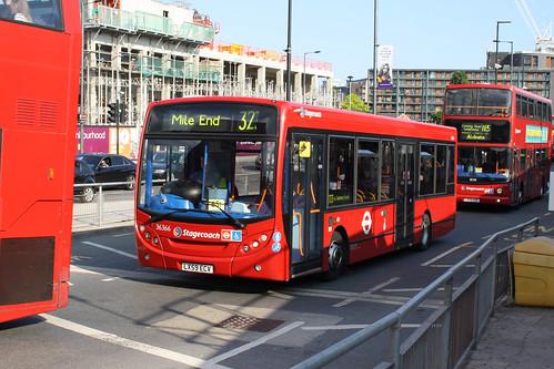 East London 36366 LX59ECV