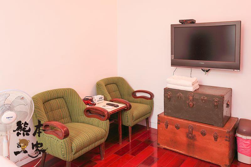台南老宅原美軍宿舍|麥克阿舍|懷舊時尚包棟住宿|前LV總裁文森白斯汀也入住過
