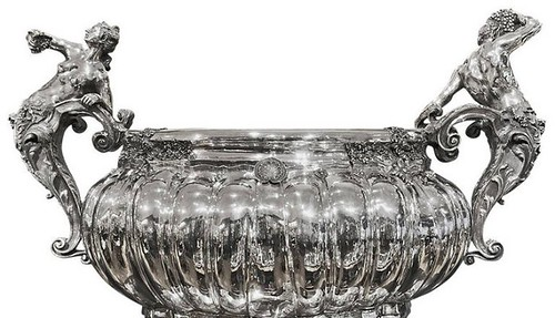 Jernegan's Massive Silver Wine Cooler replica