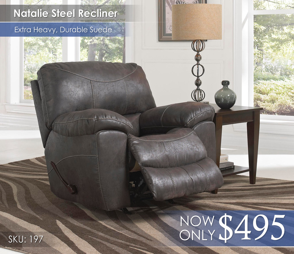 Natalie Steel Recliner 197