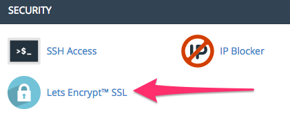 Lets Encrypt SSL icon