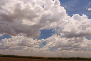 Oklahoma sky.