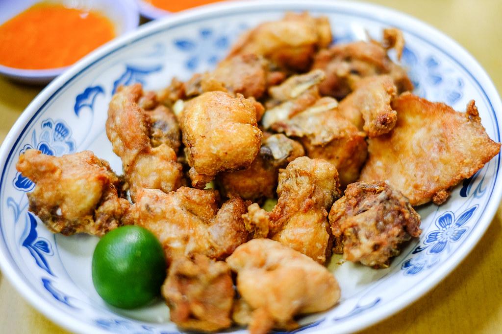 Kok Sen餐厅的虾糊鸡