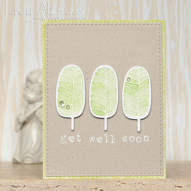 Get Well Soon Leaves by Lucy Abrams