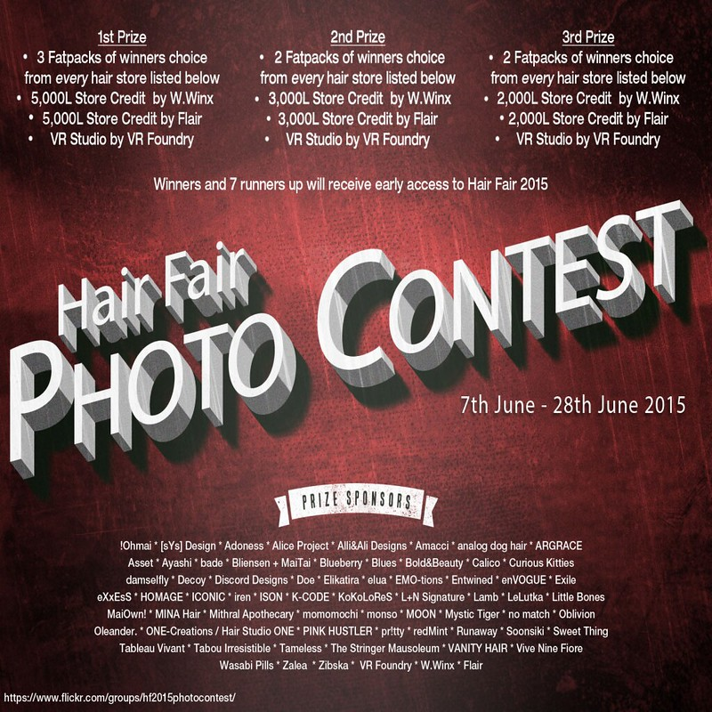 Hair Fair 2015 Photo Contest Poster