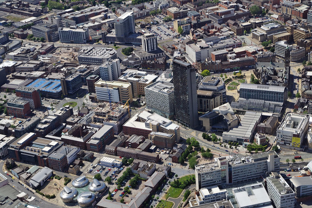 Sheffield, from above