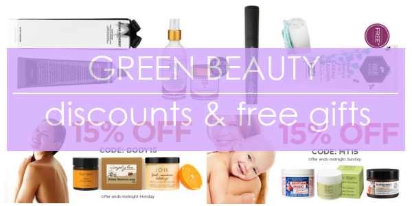 Weekly Discounts and Free Organic Beauty Gifts #23