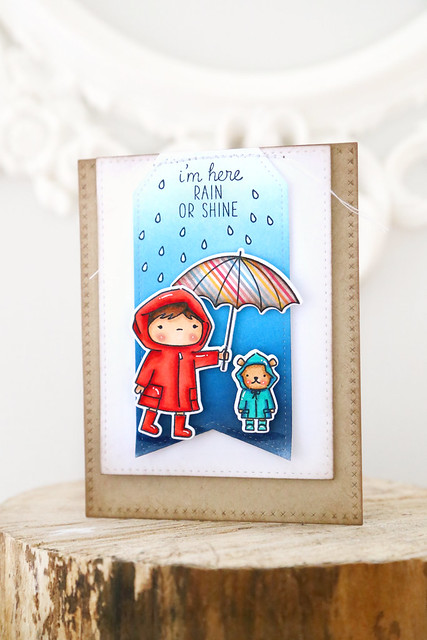 chance of showers {mama elephant}