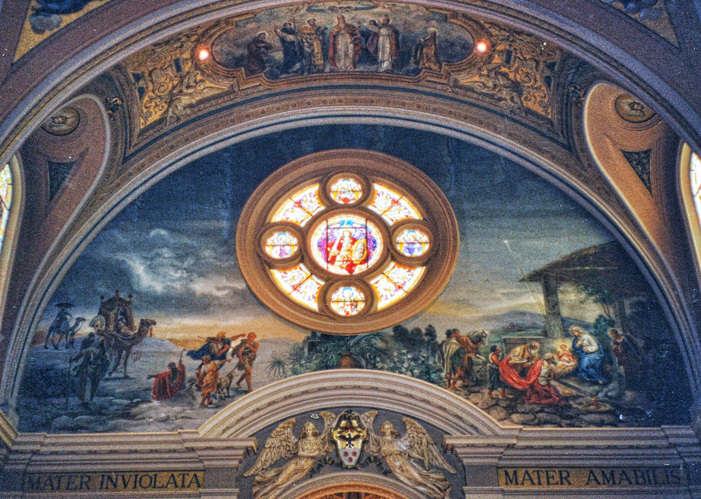 Our Lady of Victory Basilica ~ Mural Ceiling ~ Lackawanna …   Flickr