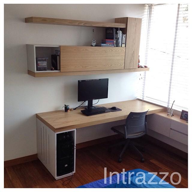 Estudio by intrazzo design dise o carpinteria carpinte for Muebles para estudio