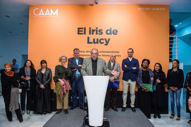 EXPOSICIÓN EL IRIS DE LUCY