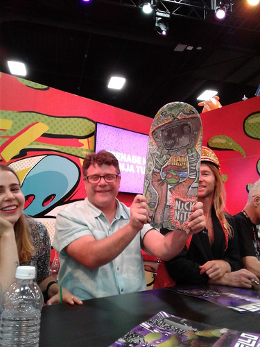 "SDCC 2016 ::Sean Astin & ""SAY ANYTHING"" skateboard"