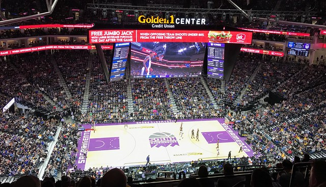 2017 Kings versus Warriors