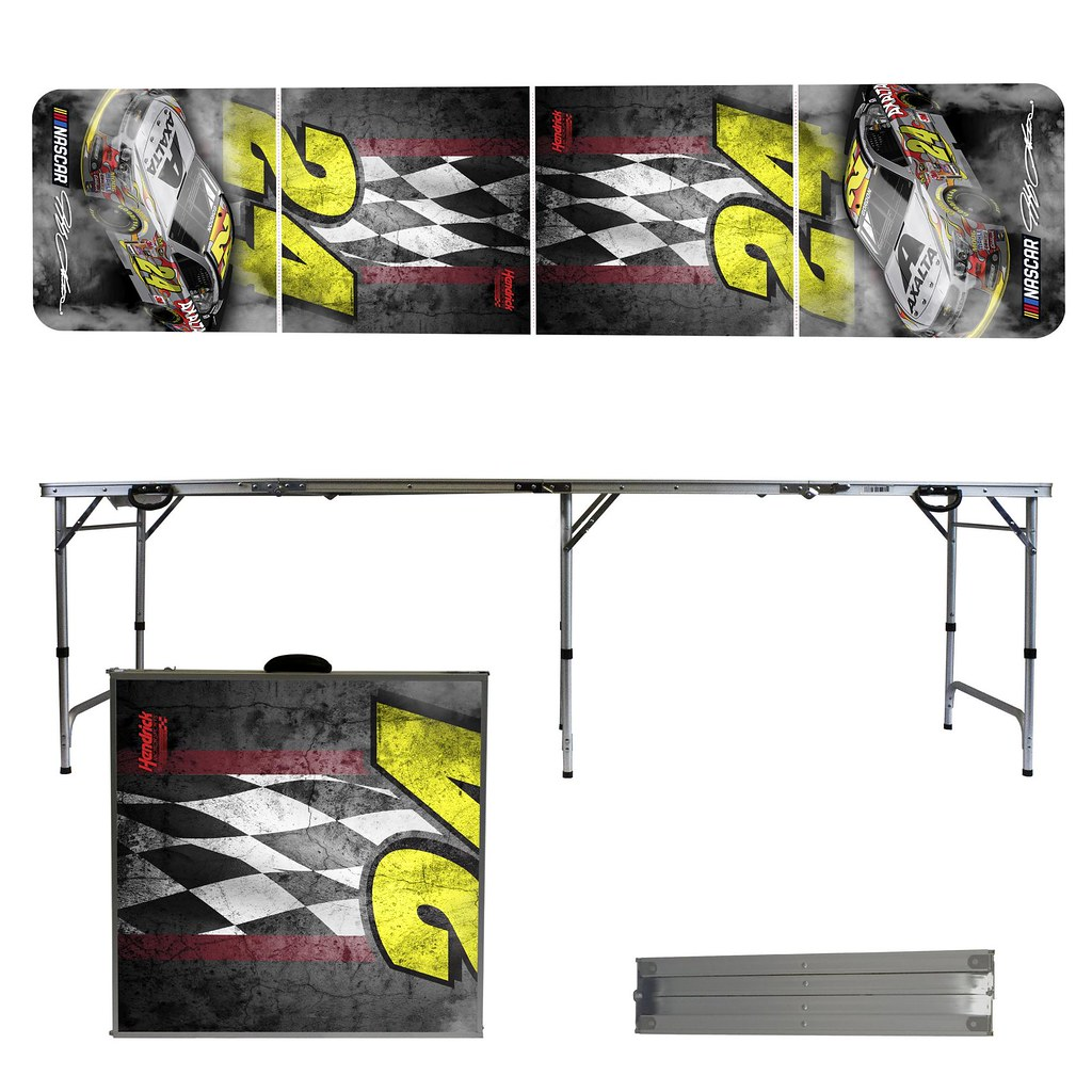 JEFF GORDON #24 Tailgating, Camping & Pong Table