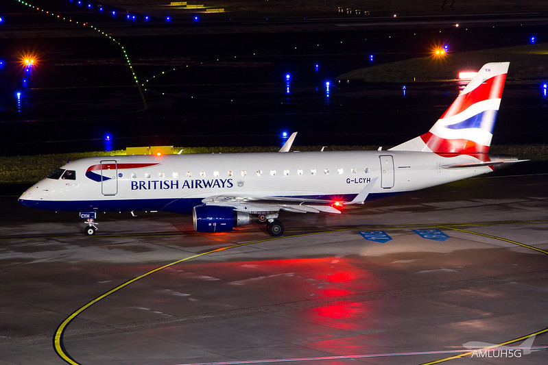 British Airways - E170 - G-LCYH (1)