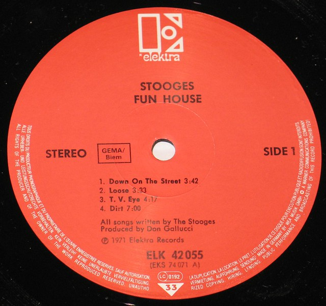 Stooges Fun House with Iggy Pop/Stooge