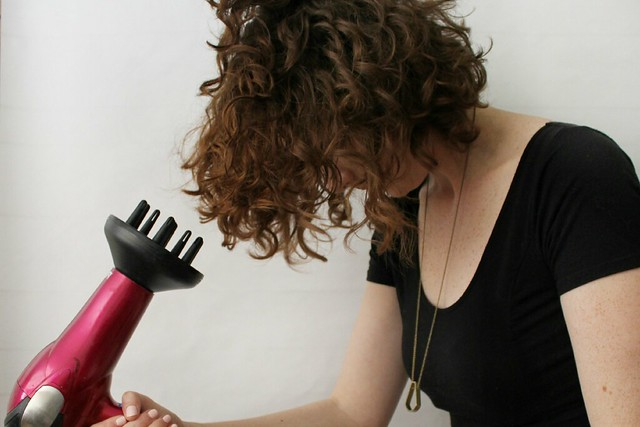 hair tutorial // deva curl
