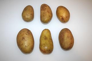 01 - Zutat Kartoffeln / Ingredient potatoes