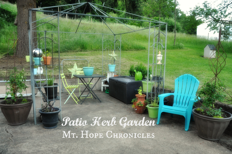 Patio Herb Garden @ Mt. Hope Chronicles