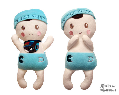 Bitty Bubs Baby Doll ITH Embroidery Pattern