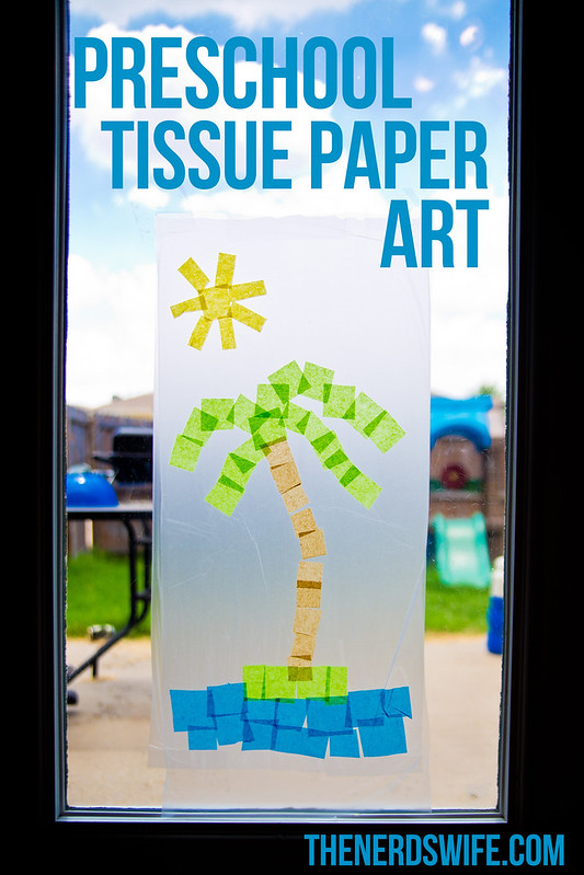 Preschool Tissue Paper Art