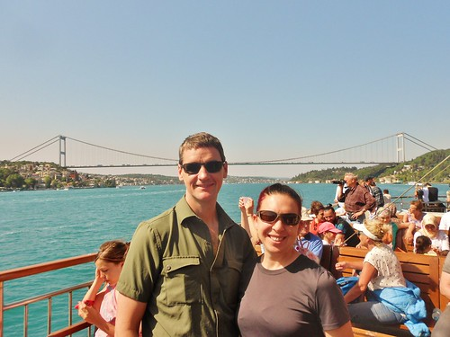 Dennis and Clare on Bosphorus Cruise | by fightgravity4evr