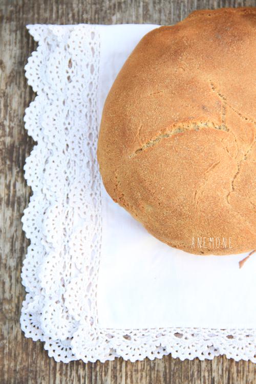 Pane di semola rimacinata con patate e lievito madre