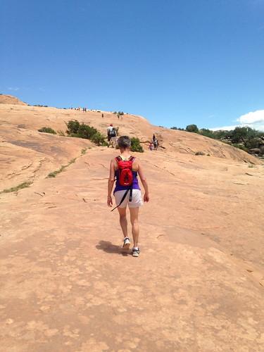 HikingSlickRock