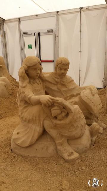 Swinemünde Sand Skulpturen Festival 201574