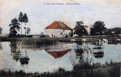 Environs d'Orgelet (Jura) - L'étang d'Ecole