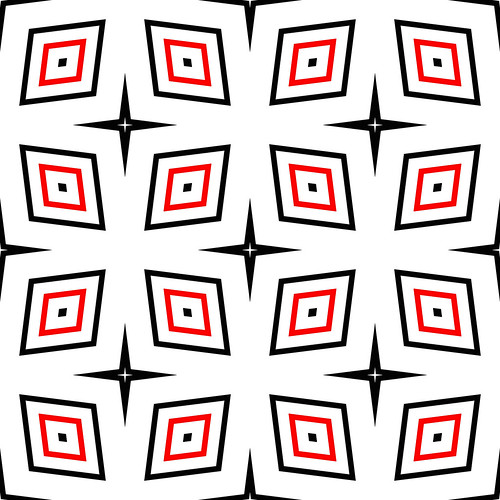 , Seamless pattern with rhombus