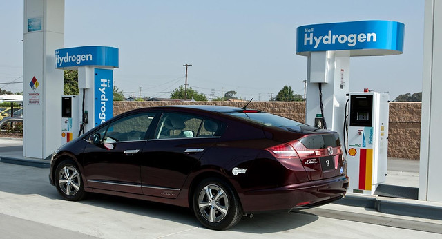 Honda FCX Fuel Cell 1