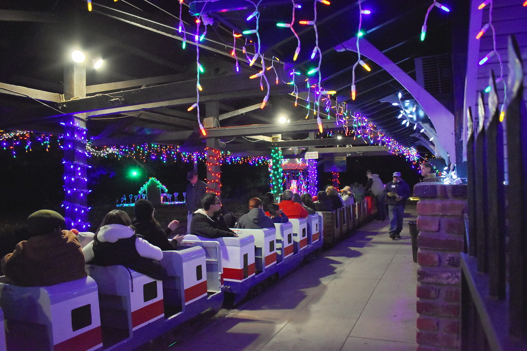 Elegant ... The Griffith Park U0026 Southern Railroad Holiday Light Festival Train Ride  | By Michael Locke