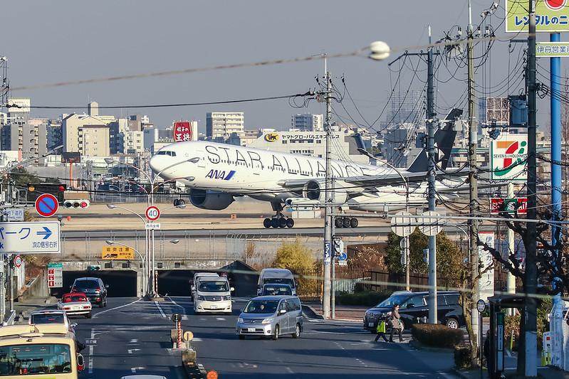 JA712A ANA 全日空 Boeing 777-200