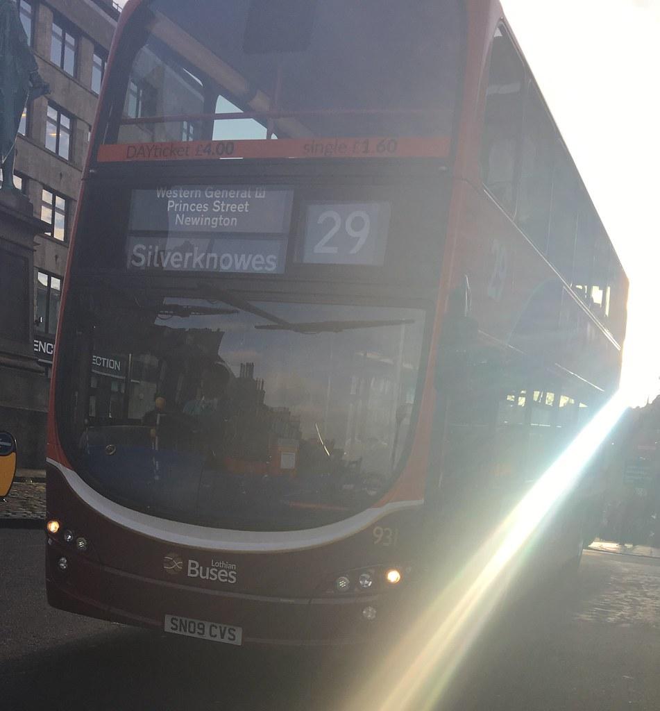 lothian buses 931 sn09 cvs cyule buses flickr