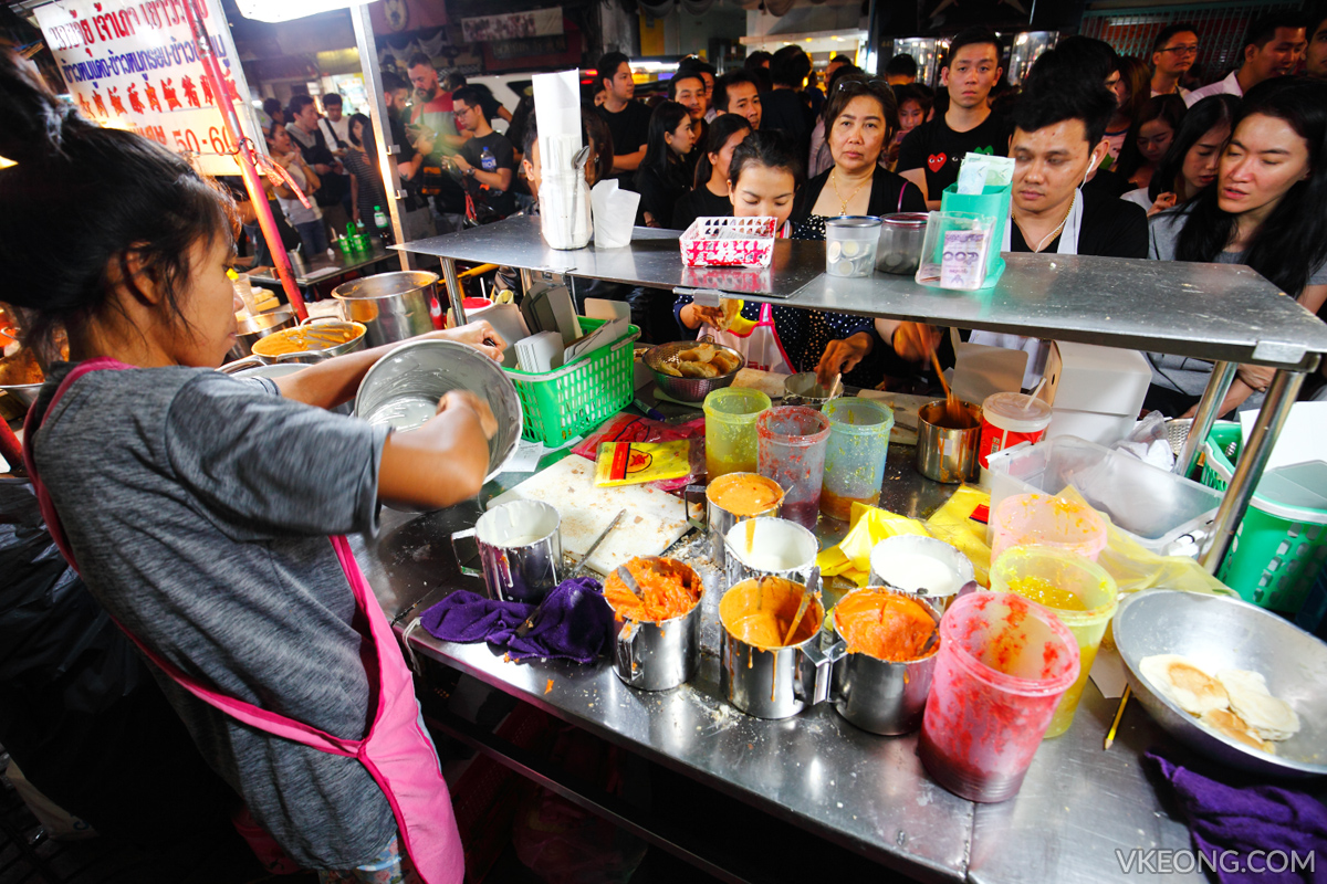 Bangkok Chinatown Yaowarat Toast Bread Stall