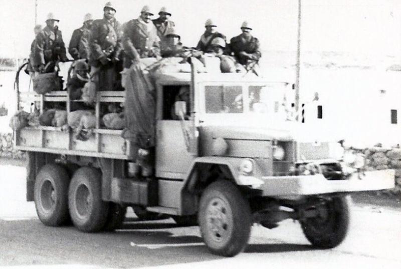 Les FAR durant la Marche Verte 1975 32322246252_d63aa524e6_o