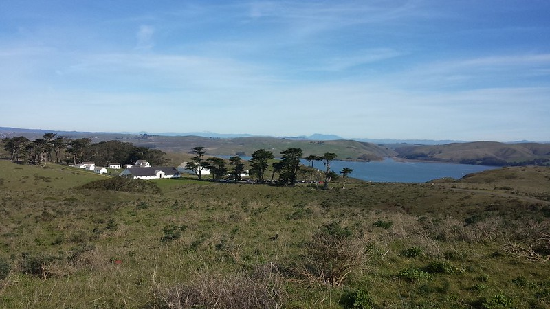 Pierce Point Ranch and Tomales Bay entrance
