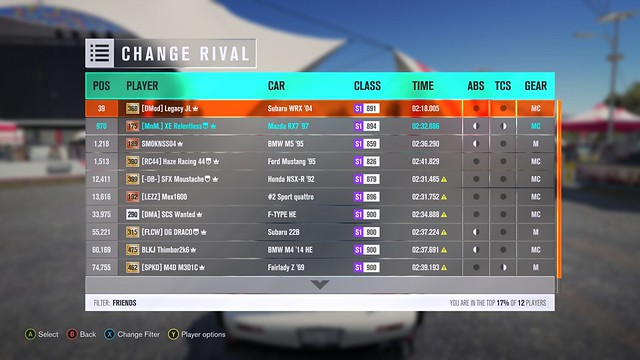 (FH3) Sweeping Forest Sprint! (450BHP) Results up! 32532305656_599f766af0_z