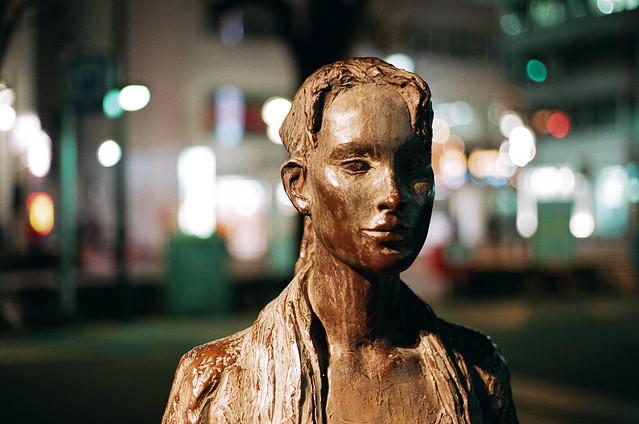 statue in ikebukuro