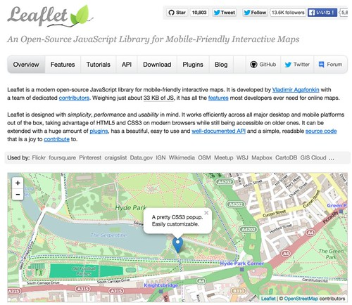 Leaflet - a JavaScript library for mobile-friendly maps_ng9ra