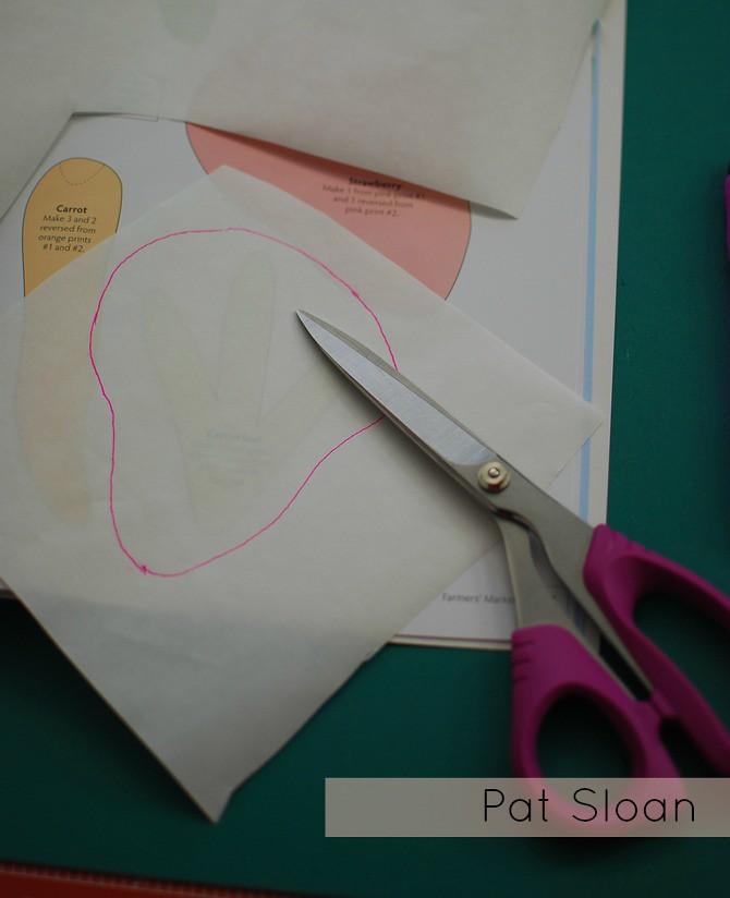 Pat Sloan Fusible Applique tutorial 3