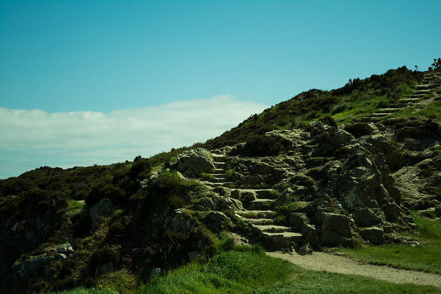 20150526-016_Howth Peninsula - Coastal Path Steps